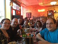 TeamTerran celebrations after Day 1 finished at the MRA 2017 Conference